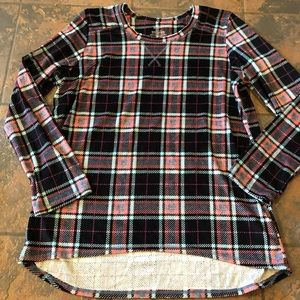 Super soft cuddle duds shirt top size large 14-16